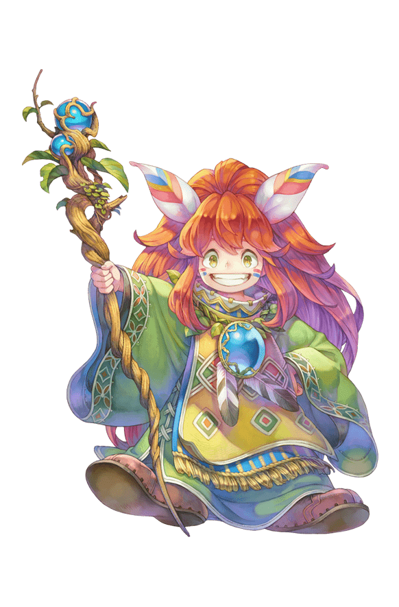Secret of Mana - Character: Randi